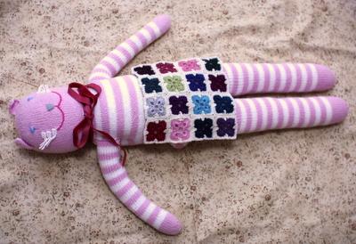 カラフルモチーフ編み