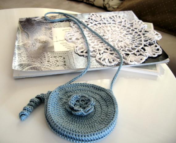 かぎ針編みミニバッグ