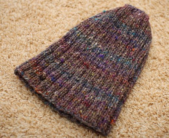 野呂英作糸でニット帽