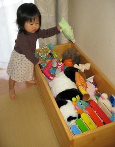 木のおもちゃ箱