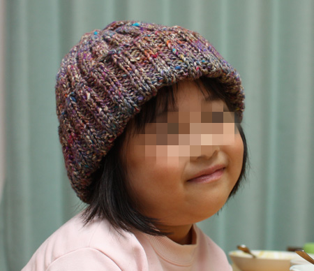 野呂英作でニット帽