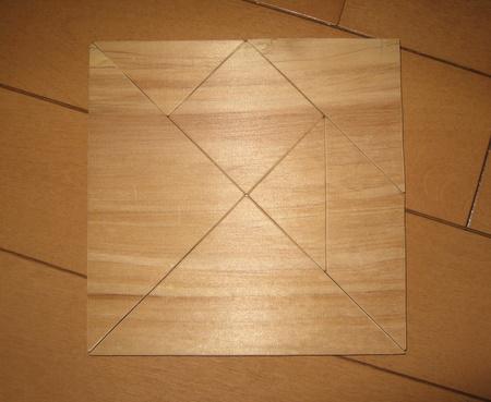 木製タングラム